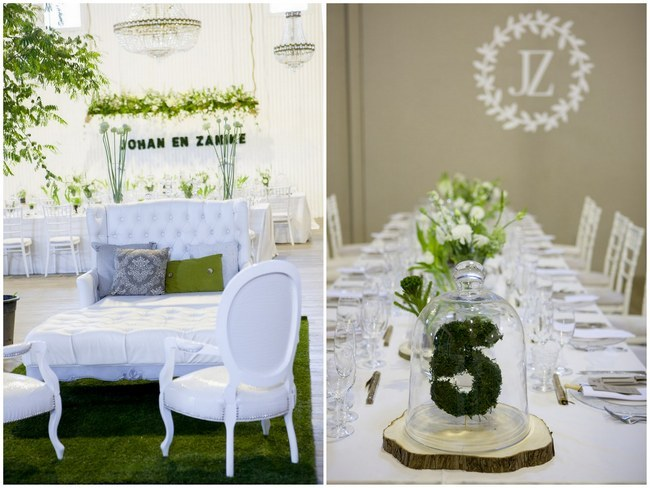 Green White Botanical Wedding Ashanti South Africa (27)