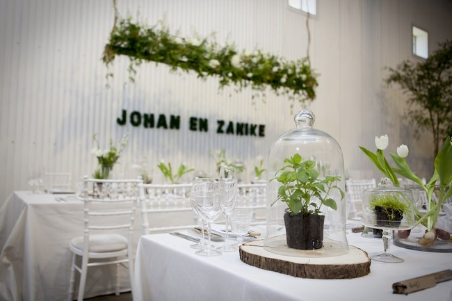 Green White Botanical Wedding Ashanti South Africa (52)