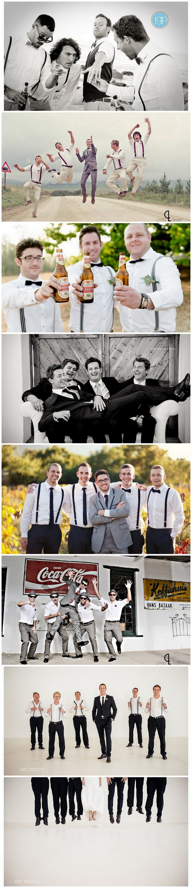 Groomsmen Wedding Photo Ideas and Poses https://www.confettidaydreams.com/wedding-photo-ideas-and-poses-for-your-wedding-party/