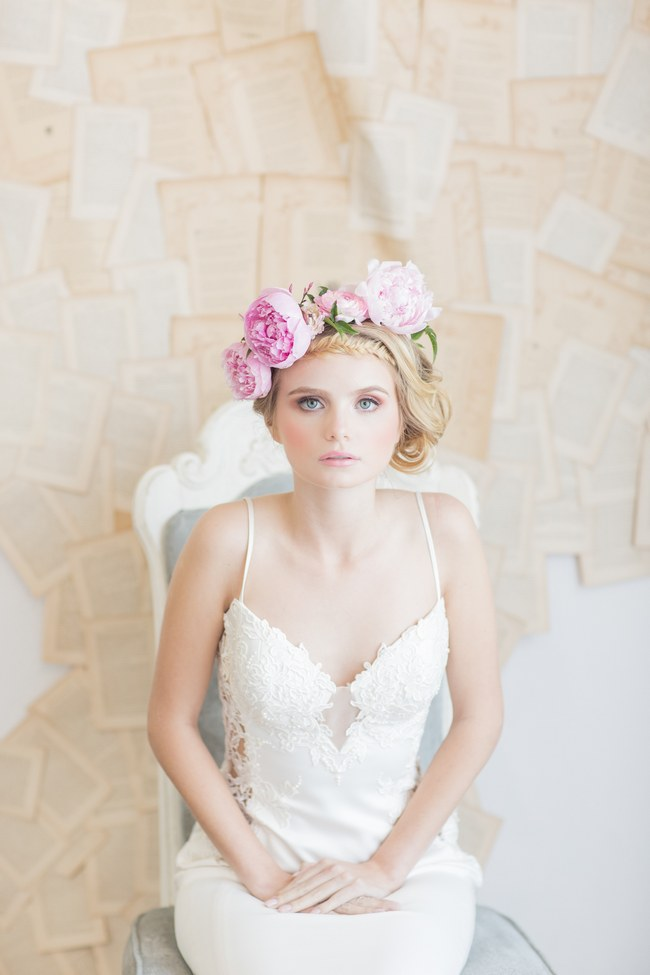 Pink Peony Flower Crown  (2)
