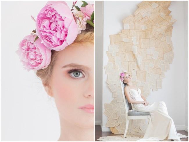 Pink Peony Flower Crown  (4)