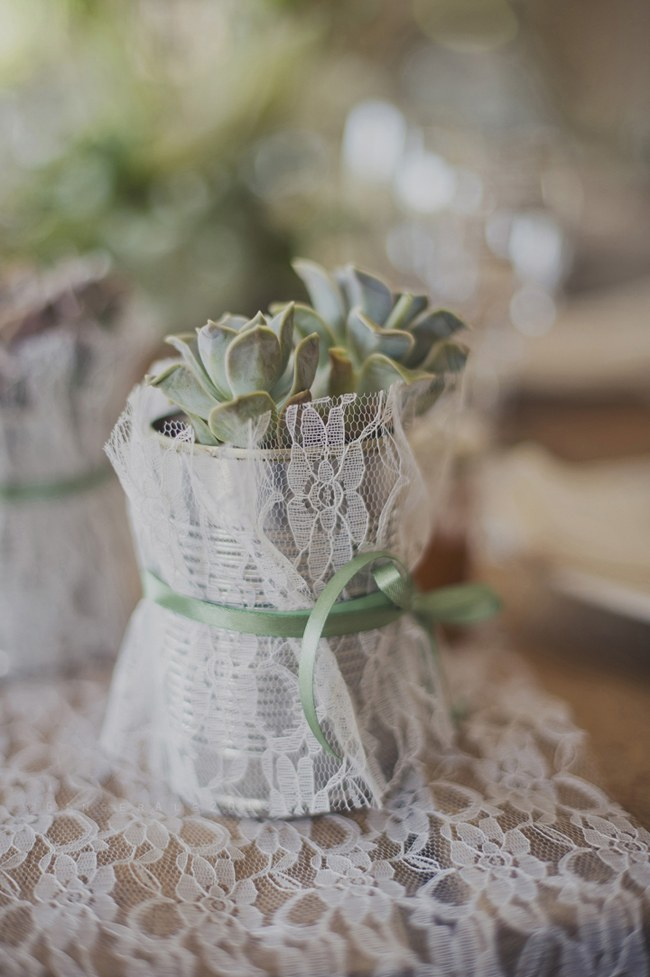 Powder Blue Lace Succulent Wedding Nutcracker Country Retreat 002