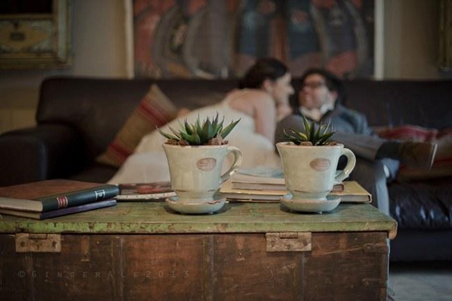 Powder Blue Lace Succulent Wedding Nutcracker Country Retreat 023