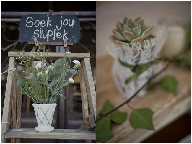 Powder Blue Lace Succulent Wedding Nutcracker Country Retreat 031