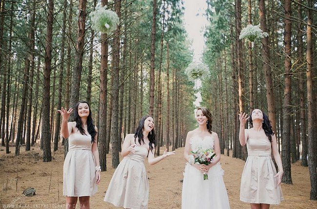 Wedding Photo Ideas and Poses - Bridesmaids (6)