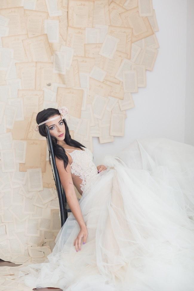 Backless Wedding Dress - Galia Lahav - Patchouli Bridal Gown (3)