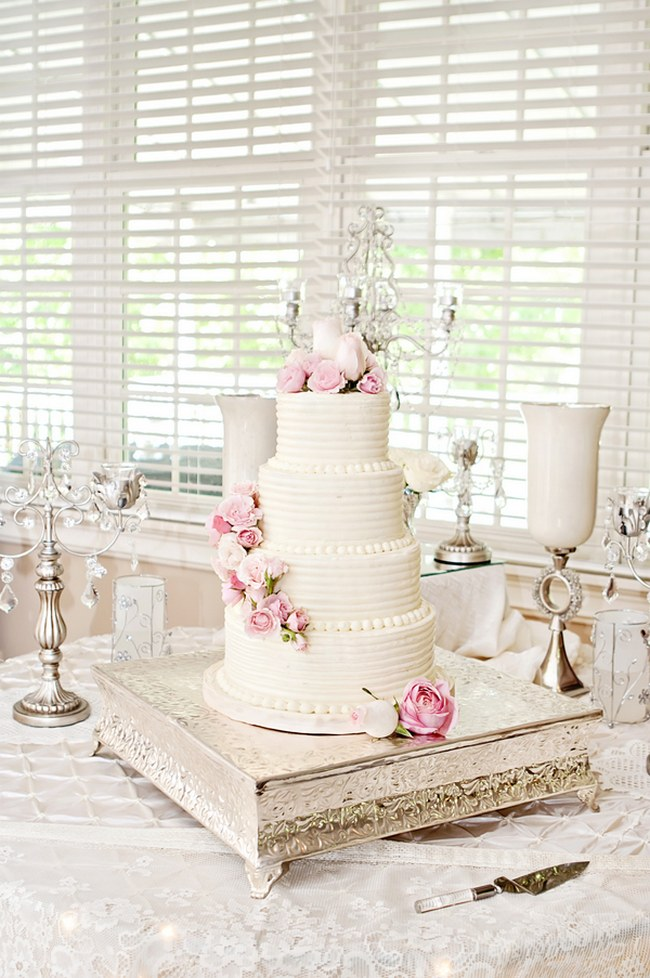 blush pink flowers wedding cake in bloom a perfectly pink amp blush soft 12053