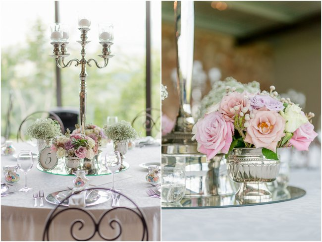 Dusty Pink & Violet Flowers and Decor  Images by Lightburst Photography - As seen on ConfettiDaydreams (1)