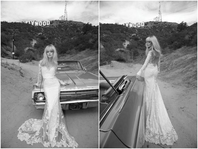 Inbal Dror Wedding Dress 2014 Los Angeles Collection