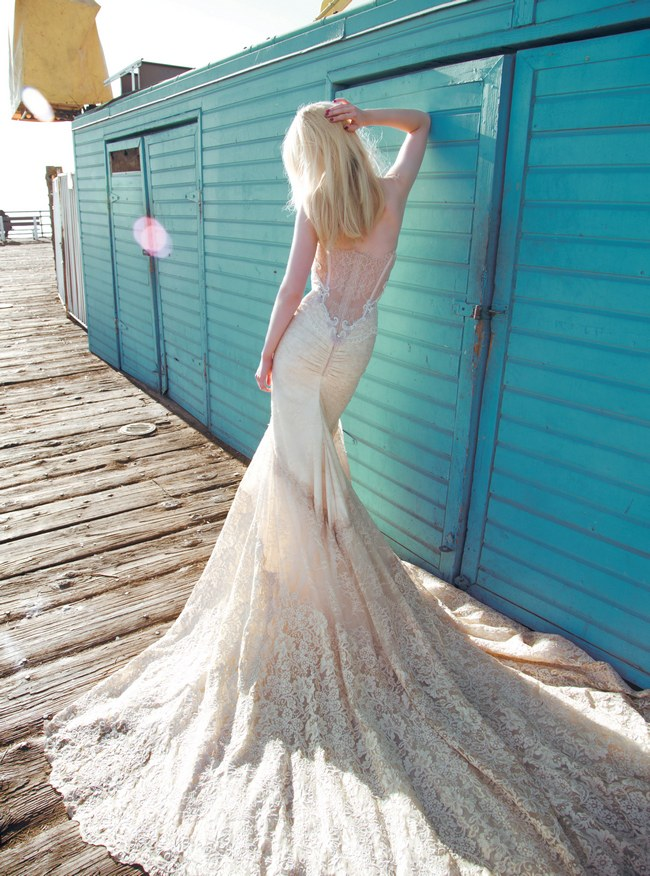 Inbal Dror Wedding Dress Collection 2014 (Dress 10 - 3)