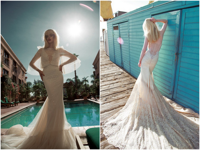 Droolworthy Inbal Dror 2014 Wedding Dress Collection {Part 1}