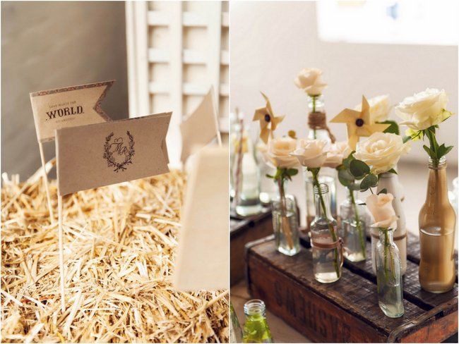 Rustic Cream and Gold Carnival Wedding (79)