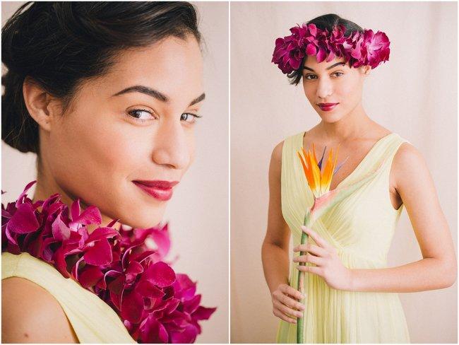 Tropical Beach Wedding Hairstyles (1)
