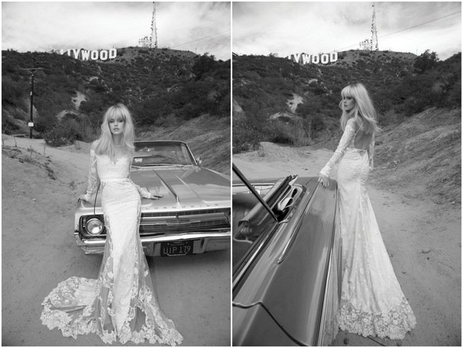 Behold the Inbal Dror 2014 'Los Angeles' Bridal Collection {Part 2}