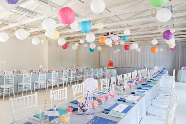 Candy Themed, Rainbow Coloured, Crazy Cool Quirky Wedding // ST Photography // On www.ConfettiDaydreams.com
