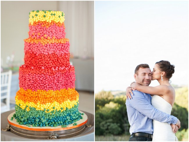Candy-Themed, Rainbow Coloured, Quirky Wedding {Samantha Du Toit Photography}