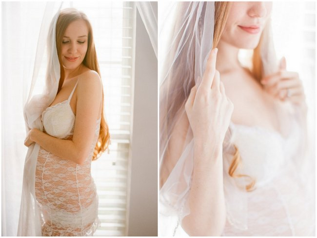 The Most Romantic Boudoir Shoot at 6 Months Pregnant! {Michael and Carina Photography}