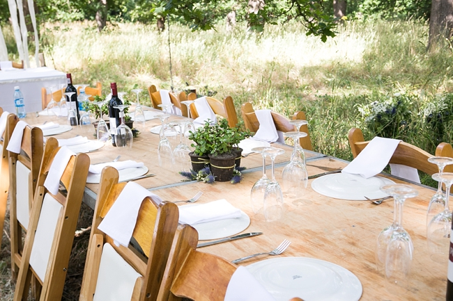 Tablescape Eco Friendly Wedding Decor Outdoor Forest Ruby Jean Photography