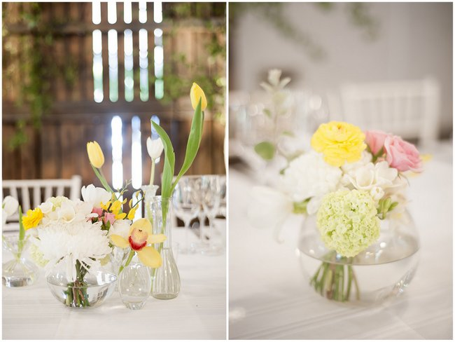 Floral Decor Pale Yellow, White & Coral Winelands Destination Wedding (South Africa) :: Joanne Markland Photography :: ConfettiDaydreams.com Wedding Blog