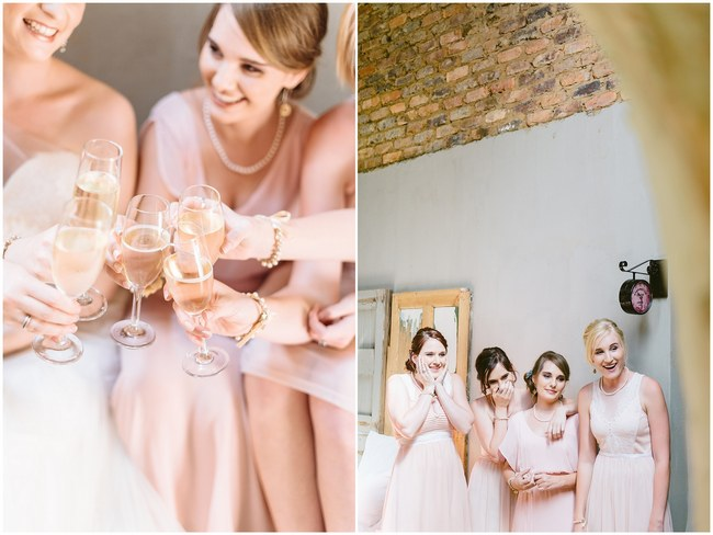 Cute Photo Ideas  :: Pretty paper Flower, Rustic Blush Farm Wedding :: South Africa :: Louise Vorster Photography :: Seen on ConfettiDaydreams.com
