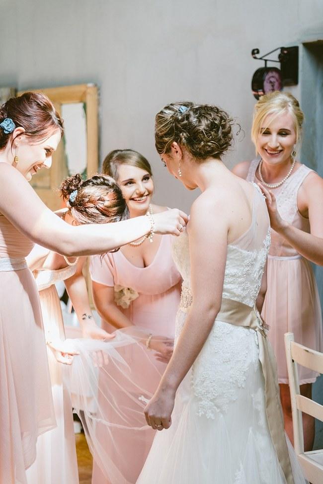 Paper Flower Rustic Blush Farm Wedding South Africa (35)