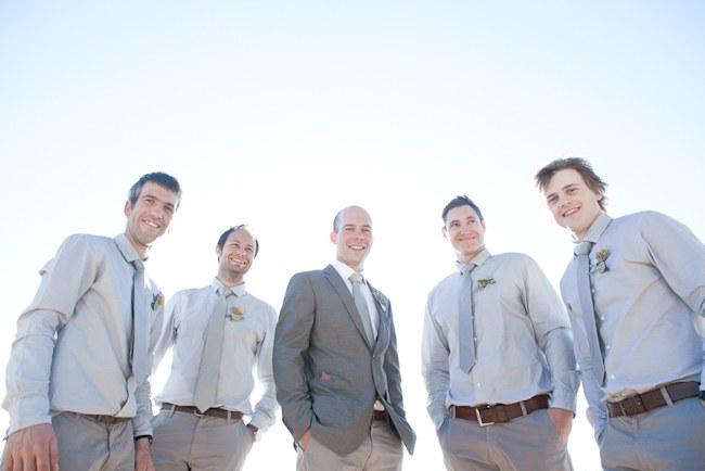 Powder blue and grey groomsmen :: :: Pretty Pastel and Powder Blue DIY South African Wedding captured by Nadine Aucamp Photography :: Published on Confetti Daydreams Wedding Blog