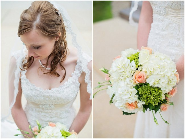 Timeless Teal and Peach New Hampton Wedding {Everlasting Love Photography}