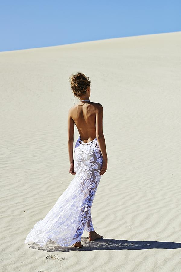 Grace Loves Lace's Backless Wedding Gown - one of many Seriously HAWT and Unbelievable Backless Wedding Dresses for 2014 on ConfettiDaydreams.com