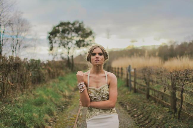 // Bohemian Luxe - Boho Bride - Gibson Bespoke // Kirsty-Lyn Jameson Photography