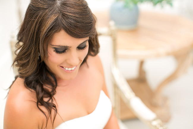 Bridal Portrait / Totally Gorgeous Glitter Blush Pink Gold South African Wedding / Adene Photography /