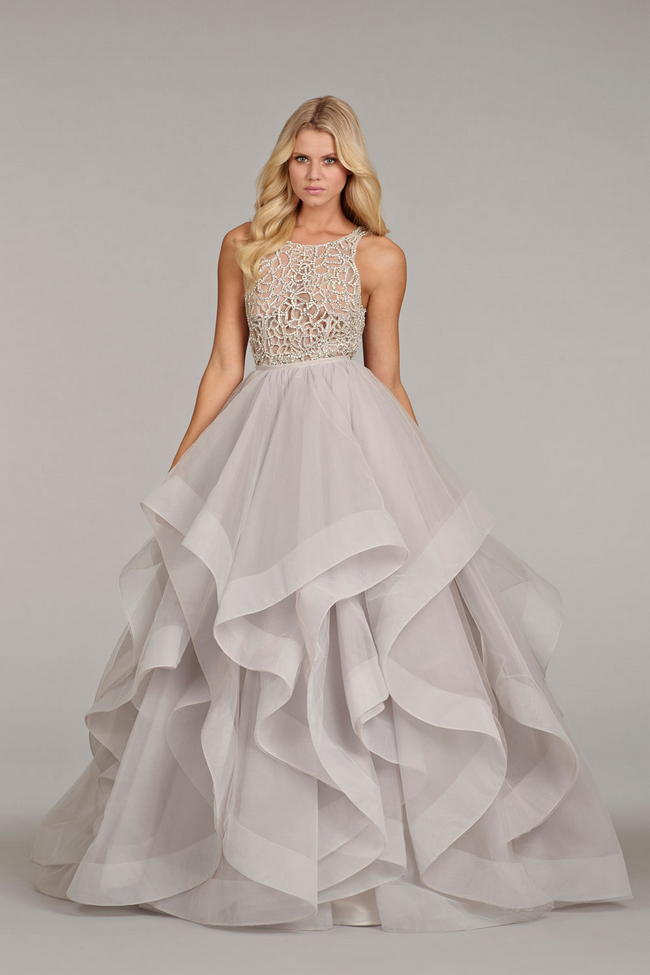 Hayley Paige 2014 Wedding Dress  2