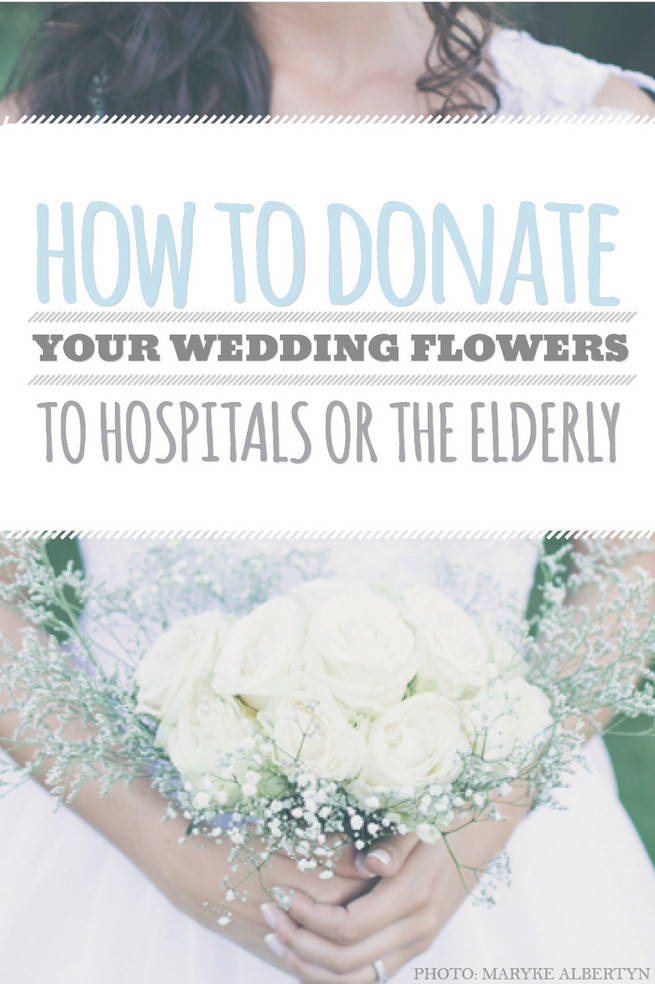 How to Donate Your Wedding Flowers 2
