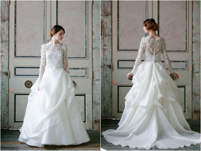 Sleeved Wedding Gowns