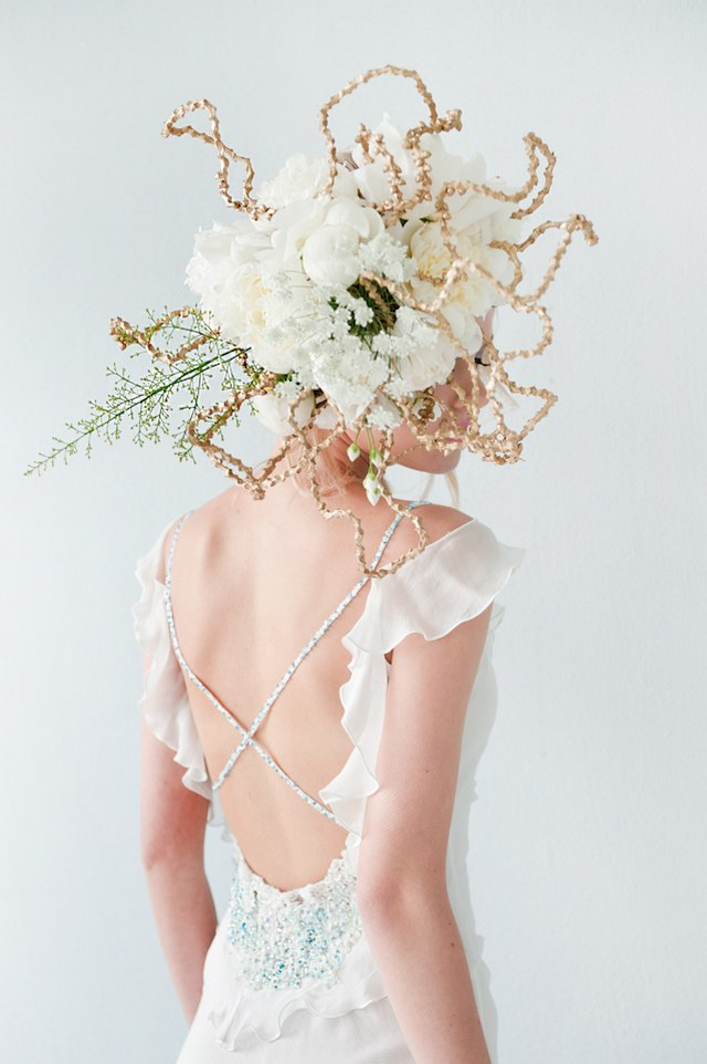 Radiant Bride Fashion Editorial :: ST Photography :: Fleur le Cordeur Headpiece Florals :: Hair by Licia Van der Merwe :: Lisa Brown Make-up Artist :: Nina Brown Stylist :: :: Hendrik Vermeulen Wedding Dress