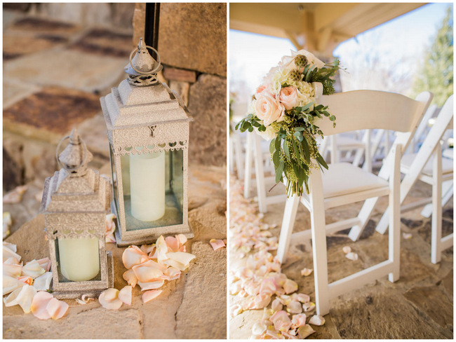 Rustic Country Wedding In Blush And Navy Meet The Burks