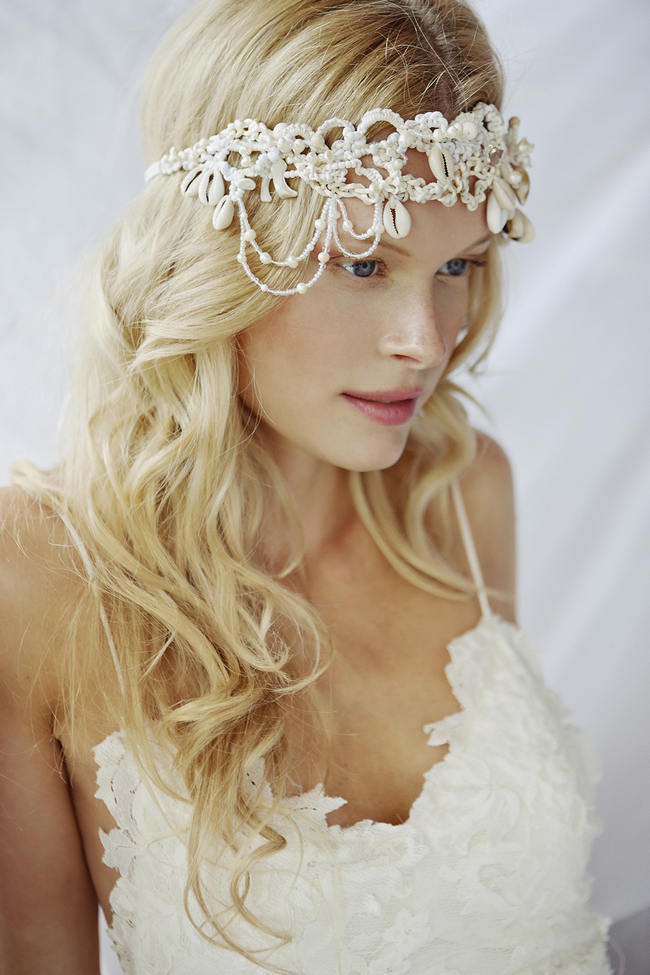Bohemian Beach Wedding Dresses - Grace Loves Lace // Sybil Steele Photography
