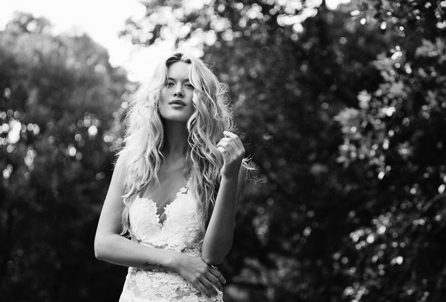 Bohemian Beach Wedding Dresses - Grace Loves Lace // Sybil Steele Photography