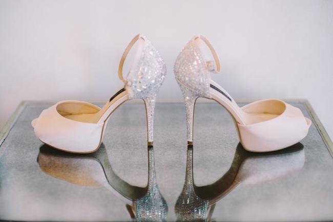 Sparkly Wedding Shoes // Elegant Grey and Burgundy Vintage Wedding at Nantes Estate // Charlene Schreuder Photography