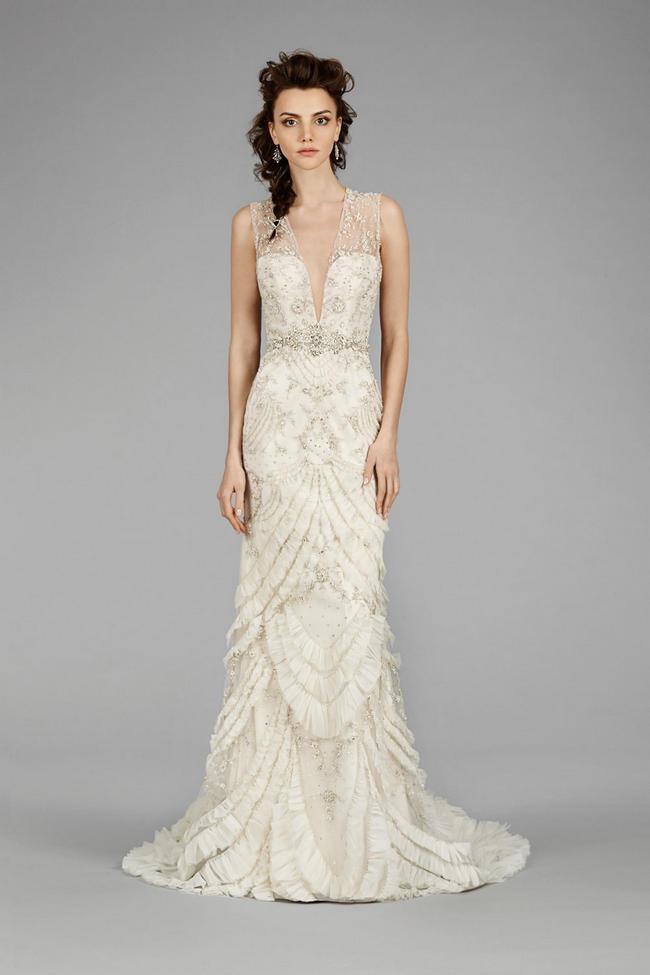 Lazaro Wedding Gown 2014 1