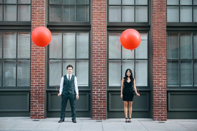Stylish Union Station Urban Engagement Shoot {Thousand Crane Photography}