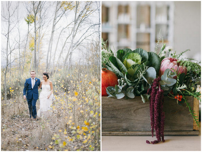 Organic, Earthy, Market-Style Wedding at Kaleo Manor {Jenni Elizabeth Photography}