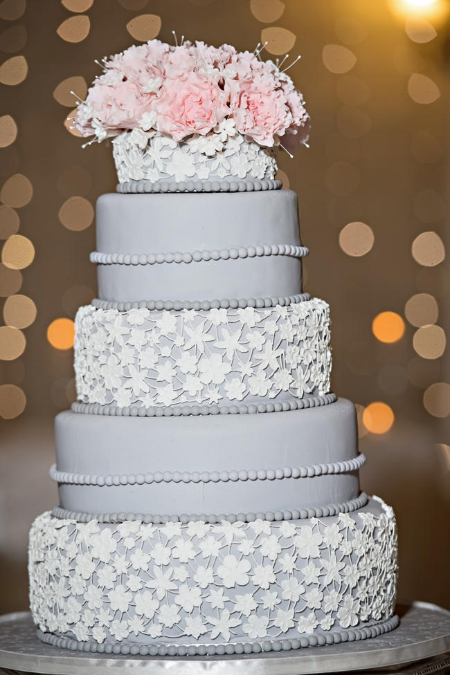 grey white and pink wedding cake soft pink and gentle grey pretoria wedding stella uys 14986