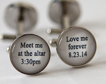 Wedding Cufflinks For Groom 1