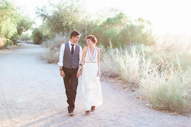 Arizona Desert Bohemian Engagement Session (6)
