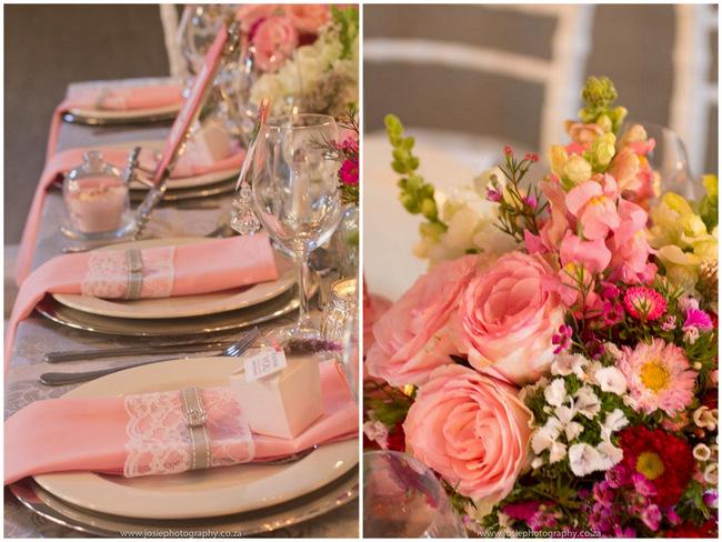 Classic Peach Wedding Ideas // That Little Shop // Josie Photography // Lols Flowers