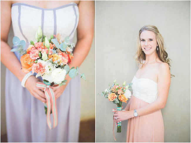DIY Teal Turquoise Peach Vintage South African Wedding (85)