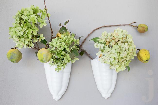 Fresh, Modern Country Style Wedding Flowers // Jo Ann Stokes Photography