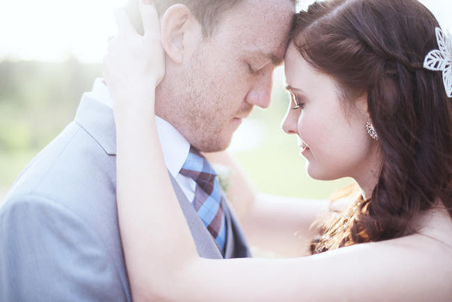Dreamy Couple Photo // Red Brown White Autumn Wedding // Christopher Smith Photography - www.Cjphoto.co.za