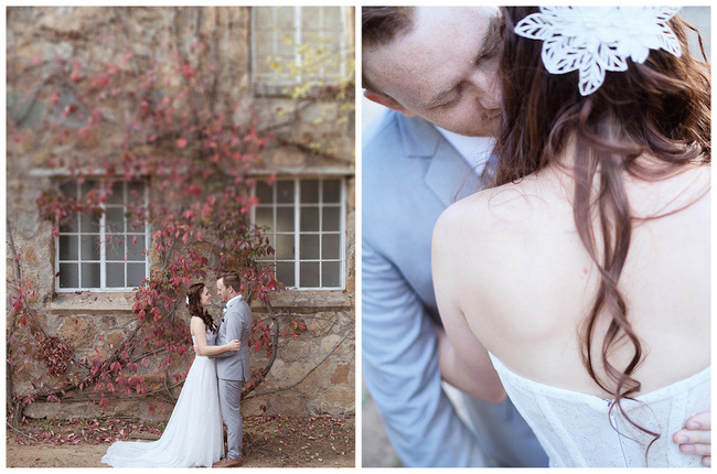 Couple Photo // Red Brown White Autumn Wedding // Christopher Smith Photography - www.Cjphoto.co.za