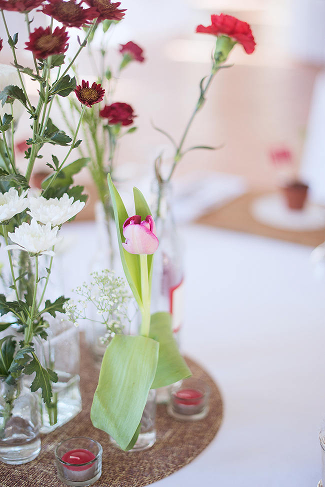 Decor and Guest Favors // Red Brown White Autumn Wedding // Christopher Smith Photography - www.Cjphoto.co.za